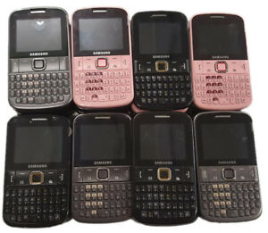 30 Lot Samsung Chat 220 GT-E2220 Cell Phone GSM Qwerty Keyboard Bluetooth Used