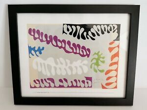 Henri Matisse - Framed Print - The Lagoon Maquette For Plate XVII - Jazz 2014