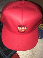 TOSCO REFINERY Hero SnapBack Hat Refining By Palmer USA Made Vintage California