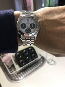 TUDOR Monarch 15900 ROLEX 36mm Daytona Datejust Watch Panda Dial Chronograph