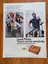 1971 Camel Filters Cigarette Ad  Grace Strong