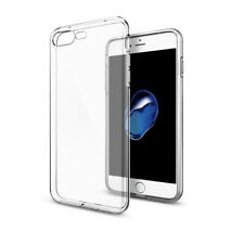 For iPhone 8 Plus 5.5 Cover Slim TPU Clear Silicone Gel Rubber Soft Skin Case