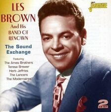LES BROWN - THE SOUND EXCHANGE   2-CD 2 CD NEW+
