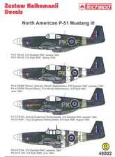 Techmod Decals 1/48 NORTH AMERICAN P-51 MUSTANG III Fighter