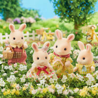 Sylvanian Families Calico Critters Marguerite Pink Rabbit Family