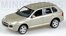 Porsche Cayenne Turbo 2002-07 Jarama Beige Metallic 1:43 Minichamps