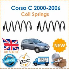 For Vauxhall Corsa C 1.0 1.2 SXi 2 Front Suspension Coil Springs x2 424267