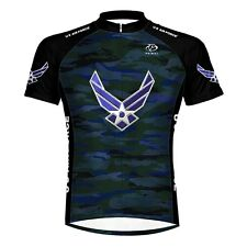 Primal Wear U.S. Air Force Engage Camo Cycling Jersey Zip Neck USAF Men's S $80