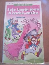 Enid Blyton: Jojo lapin joue à cache-cache/ Bibliothèque Rose, 1989