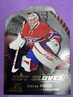 2016-17 Fleer Flair Showcase Hot Gloves #HG10 Carey Price Montreal Canadiens