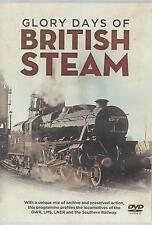 Trains - British Steam, Glory Days of.... Trains, Rail, Engines (DVD 2013) New
