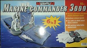 MARINE COMMANDER 3000 millenium gioco di società giochi battaglia navale