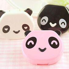 Random Color Travel Contact Lenses Container Cartoon Hot Cute Panda 1 Pcs Case