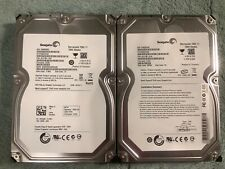 "Lot of 2 Seagate Barracuda 7200 1.5TB Internal 7200RPM 3.5"" (ST31500341AS) HDD"