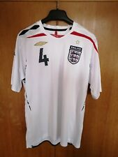 Authentic Umbro England 2007-09 Football Shirt. Gerrard, Liverpool. Large.