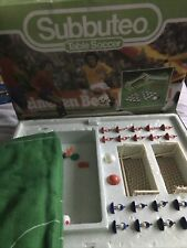 More details for vintage subbuteo table soccer club edition rare 1982