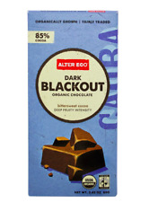 Keto Candy: Alter Eco Dark Chocolate low carb Blackout 2 bars (7 net carbs)