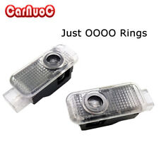 2pcs LED Car Door Light Just Four Rings Courtesy Projector Laser Light For Audi