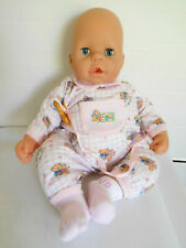 "Zapf 18"" Chou Chou Vinyl Baby Doll Interactive Cries, Cheeks Light Up"
