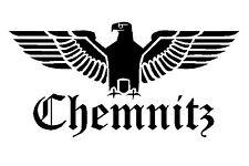 Reichsadler Chemnitz Auto Aufkleber Sticker Schrift Adler Deutschland shocker