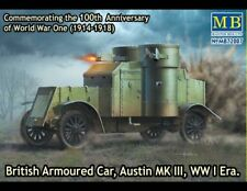 "Masterbox 1 72 - ""british Armoured car Austin MK III"