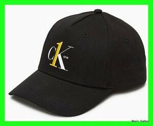 CK One Calvin Klein BaseBall Cap Ball Hat Military NWT Adjustable C K Black Logo