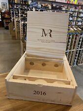 Michael Rolland Cabernet Wine Crate Napa Valley 2016 Box