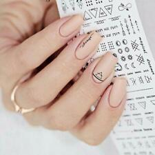 Geometry Pattern Nail Art