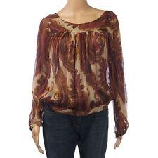 ZARA Women's Collarless Casual Tops & Shirts