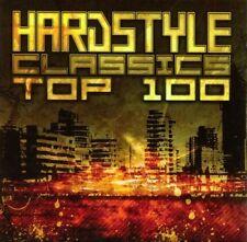 HARDSTYLE CLASSICS TOP 100 3 CD NEW+ ZANY/DJ ROB/MENTAL SHOCK/RAINE/+