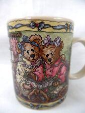 "Boyds Bears~""True Friendship & Forever Friends""~Bailey~Cera mic Coffee Mug~New!"