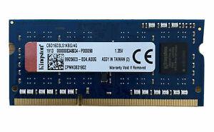 Kingston 4Go DDR3 SODIMM PC3L-12800 1600Mhz (LOW VOLTAGE) CL11