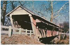 Basil Covered Bridge over Walnut Creek, Fairfield County, Ohio