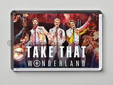New, Quality Fridge Magnet, TAKE THAT Wonderland Live, Lovely Tour Keepsake