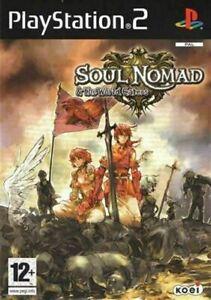 Soul Nomad & the World Eaters PS2 GIOCO USATO ITALIANA