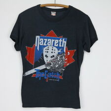 Nazareth Shirt Vintage tshirt 1984 The Catch Canadian Concert Tour tee Band 80s