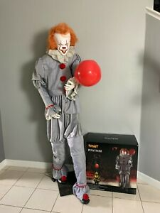Spirit Halloween - Pennywise IT Animatronic - 6.5 Feet - 2020 - Horror Prop LED