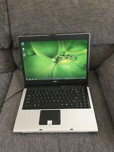 "ACER ASPIRE 3690 15.4""(Intel Celeron/3GB RAM/60GB HD/Win7/Office07)-Excellent"