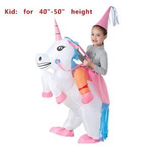 Kids' Unicorn Costume Inflatable Suit Halloween Cosplay Fantasy Costumes