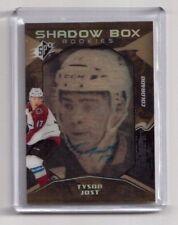 2017-18 Upper Deck SPX Hockey Tyson Jost Shadow Box Rookies Auto 18/18