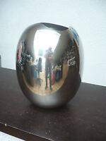 "Philippi Design ""Fjel"" Vase - Neu Edelstahl Sonderangebot  146001 Geschenk TOP"