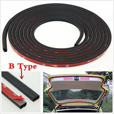 5 meters B Type Door Edge Rubber Seal Strip Hollow Car Weatherstrip Trim Protect