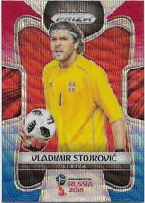 2018 Panini FIFA World Cup Blue Red Wave Prizm (184) Vladimir STOJKOVIC Serbia