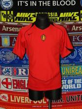 5/5 Belgium adults M 2004 MINT football shirt jersey trikot soccer