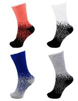 Extra Large Super Soft Warm Cozy Fuzzy Gradient Socks 4B 4 Pairs