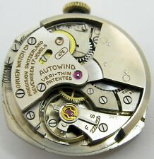 Gruen veri-thin 475 watch movement 17 jewels automatic bumper for parts
