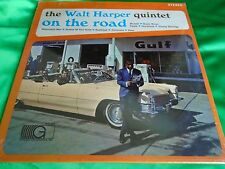 Sealed Original 1966 Jazz LP : Walt Harper Quintet ~ On The Road ~ Gateway 7016