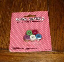 NOS Old School BMX Bicycle Green Painted Royal Enfield Chainring Bolts