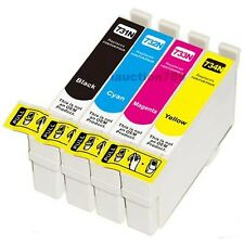 10 Ink Cartridge 73N for T0731-4 TX550W TX100 TX200 TX400 Printer