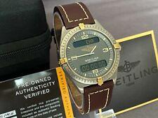 Breitling Navitimer Aerospace F56059 Chronograph Titanium and Gold